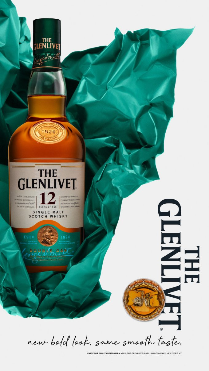The Glenlivet unwraps a new bold look