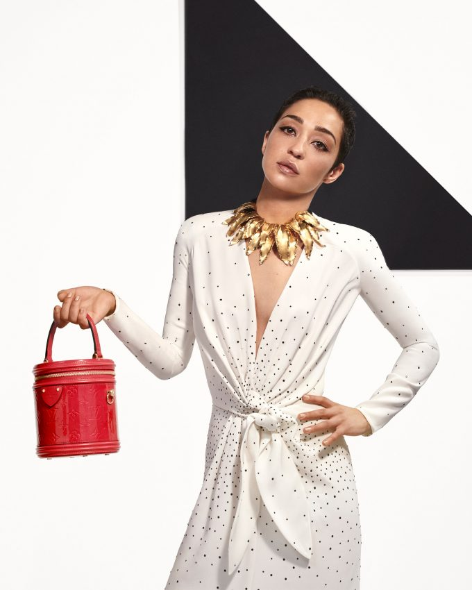 Louis Vuitton presents the Pre-Fall 2019 Collection with bags of celebrities