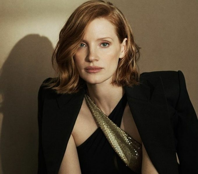 Jessica Chastain is back as Ralph Lauren's Intense Woman