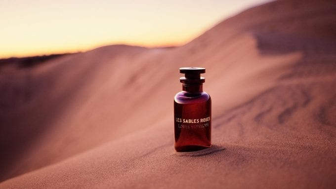 Louis Vuitton reveals new oriental fragrance – Les Sables Roses
