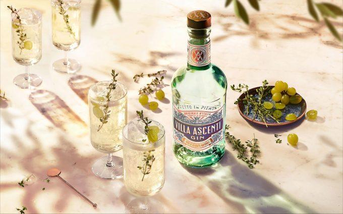 Diageo introduces new super-premium Italian gin, Villa Ascenti