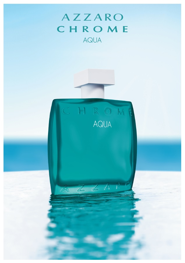 Azzaro launches Chrome Aqua, the essence of the Mediterranean in a fragrance