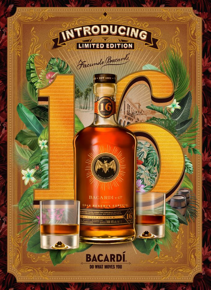 BACARDÍ unveils Gran Reserva Especial – a rare, limited edition, premium sipping rum exclusive to duty-free