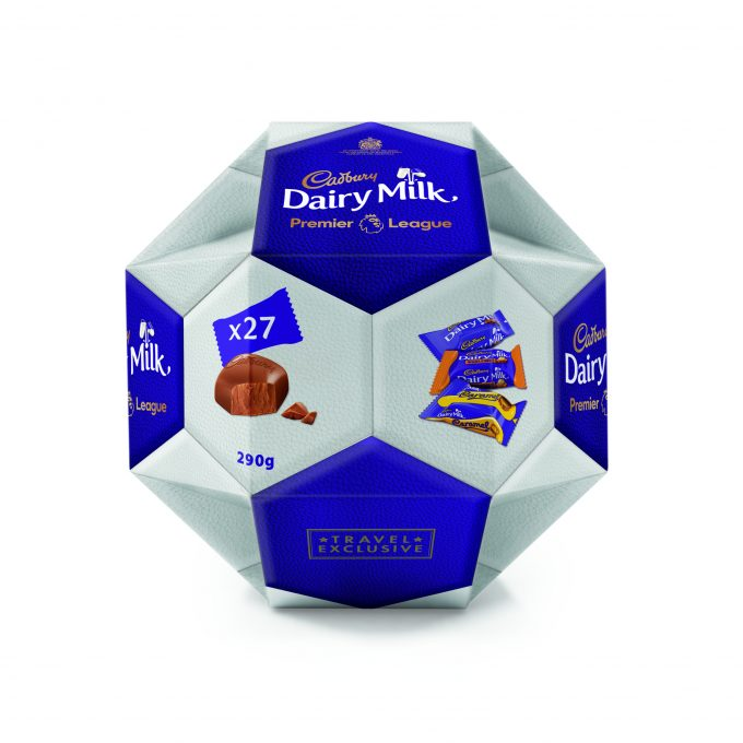 Cadbury & Premier League score with duty-free exclusive Ball