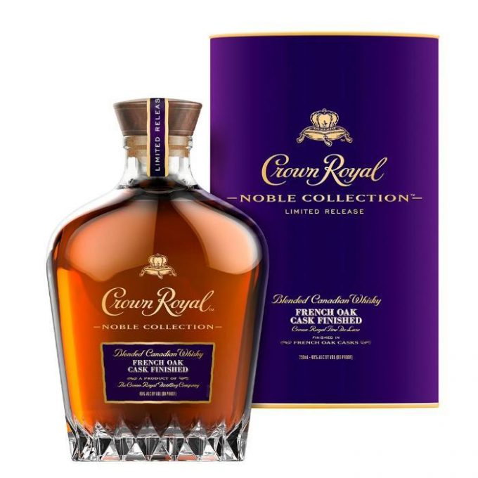 Crown Royal reveals new Limited-Edition, Noble Collection French Oak Cask Finished