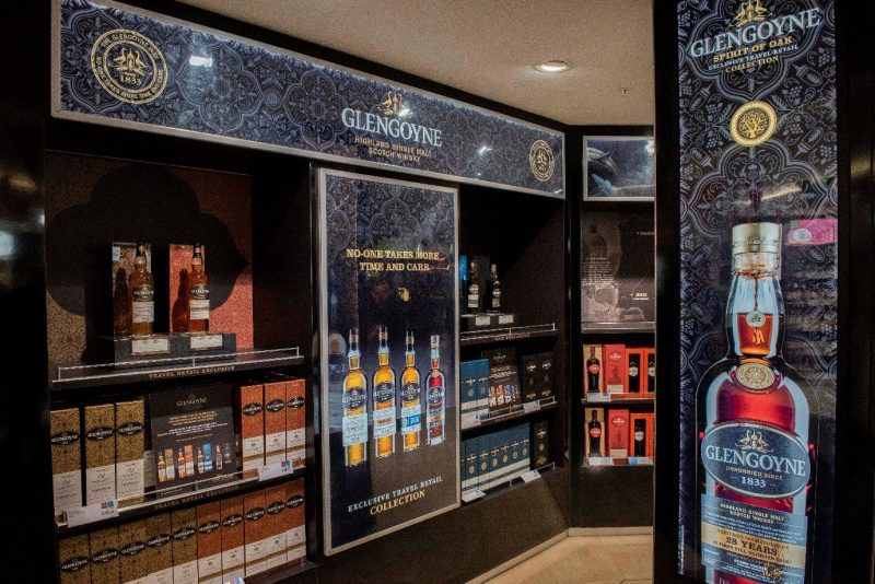 Rare & exclusive Tamdhu and Glengoyne single malts on show at Edinburgh Airport's whisky festival