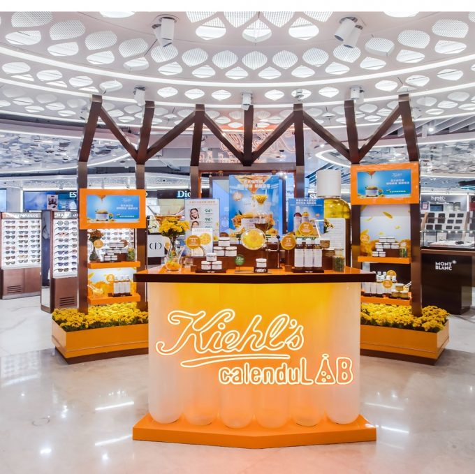 Kiehl's CalenduLAB pops up for travellers at Hong Kong International