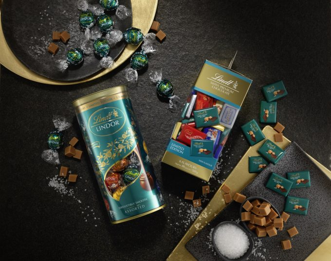 Lindt & Heinemann launch travel exclusive Dark Caramel Sea Salt editions