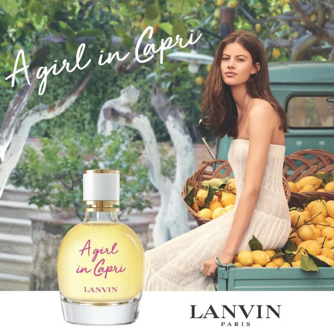 Lanvin introduces 'A Girl in Capri' fragrance