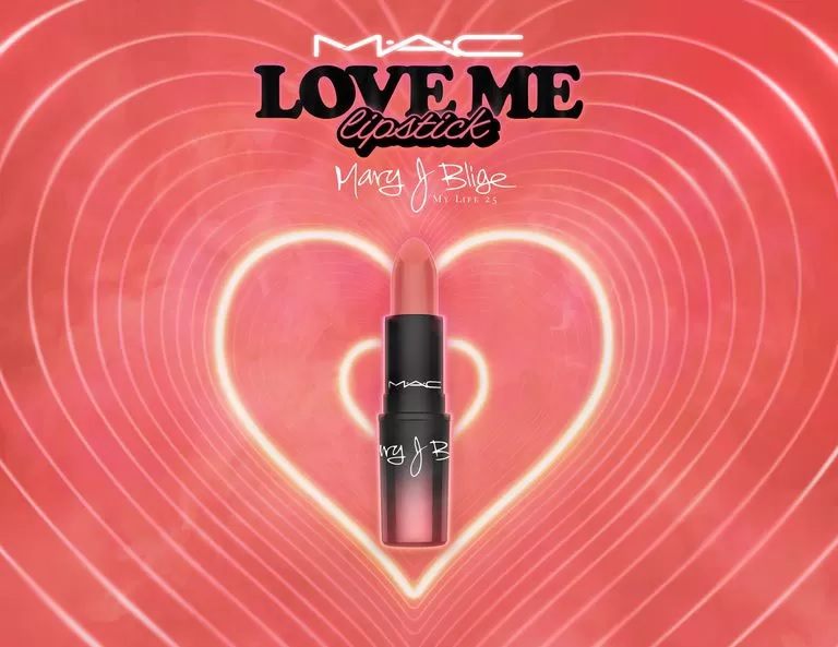MAC loves MJB ❤️? - launches Love Me Lipstick limited edition