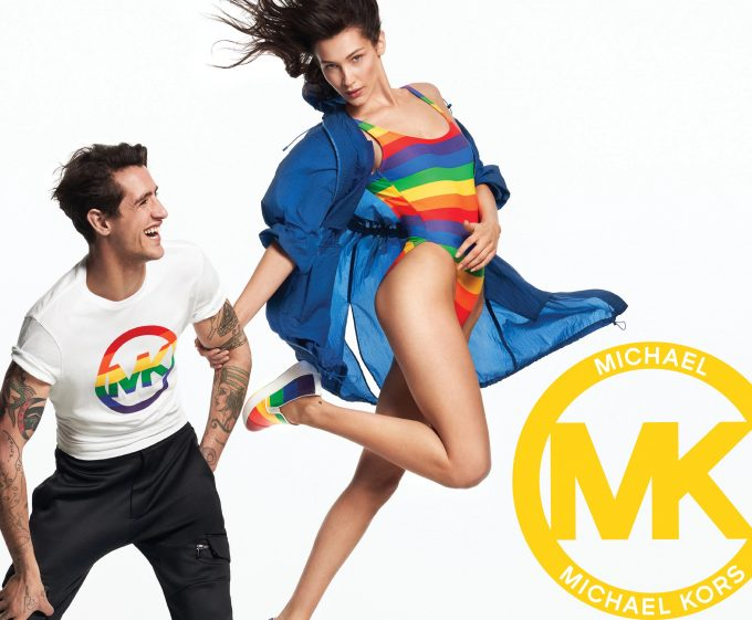 Michael Kors launches #MKGO Rainbow capsule with Bella Hadid