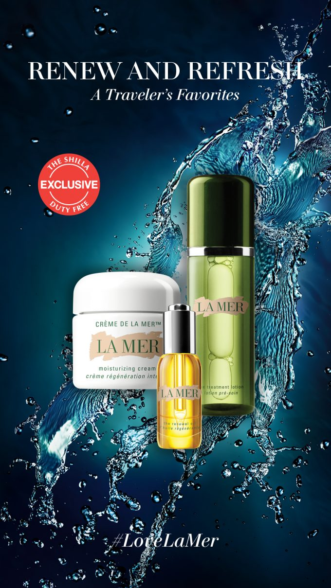 Shilla Duty Free X La Mer launch The Renew & Refresh Collection – A Shilla Travel Exclusive