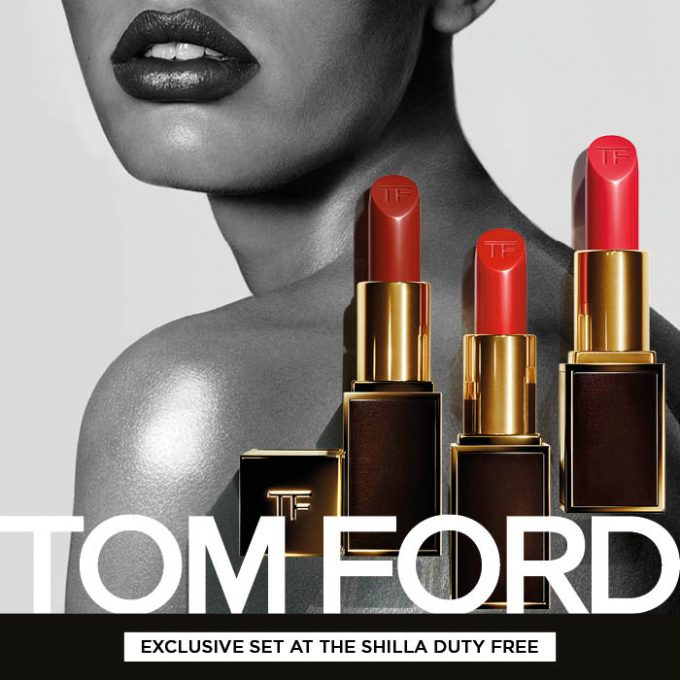 Shilla Duty Free reveals global exclusive Tom Ford Lip Color Set