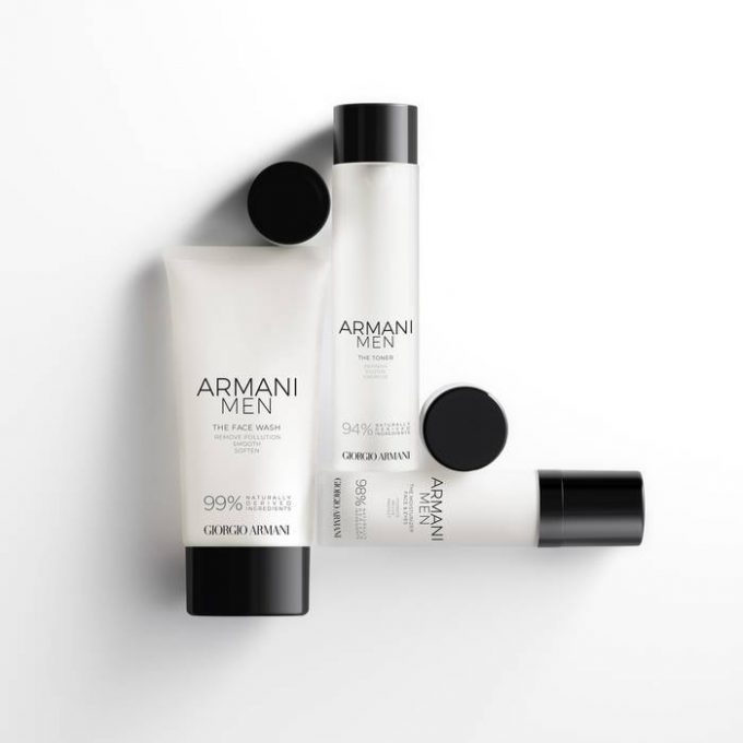 Armani launches ARMANI MEN skincare range