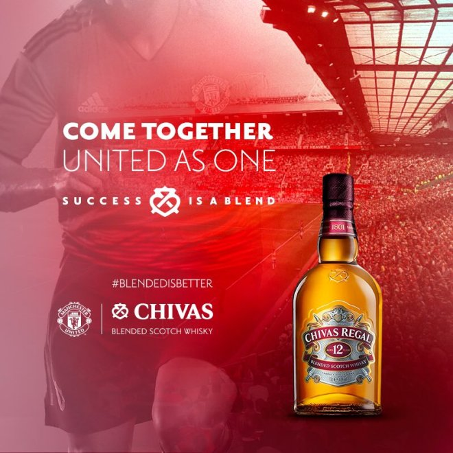 Chivas Regal and Manchester United to team up at Singapore Changi