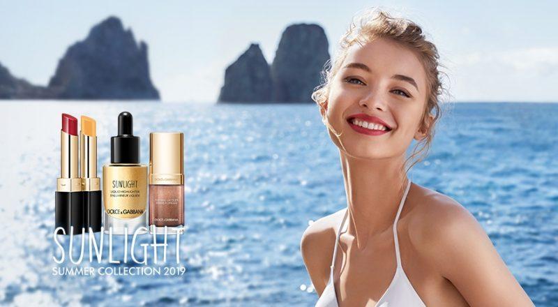 Dolce&Gabbana's Summer makeup bathes you in golden sunlight