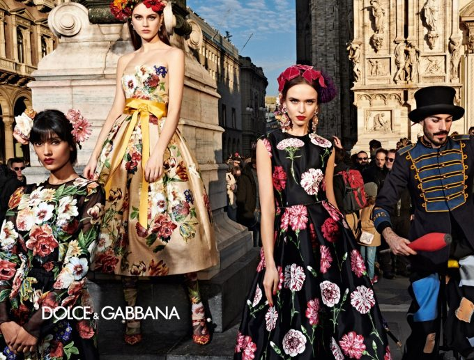 Dolce&Gabbana take over Milan in new campaign