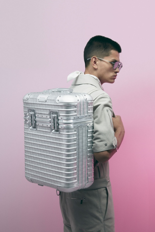 DIOR collaborates with RIMOWA on luxury luggage collection