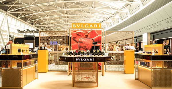 BULGARI opens 'Perfume of Gems' pop-up at Zürich Airport
