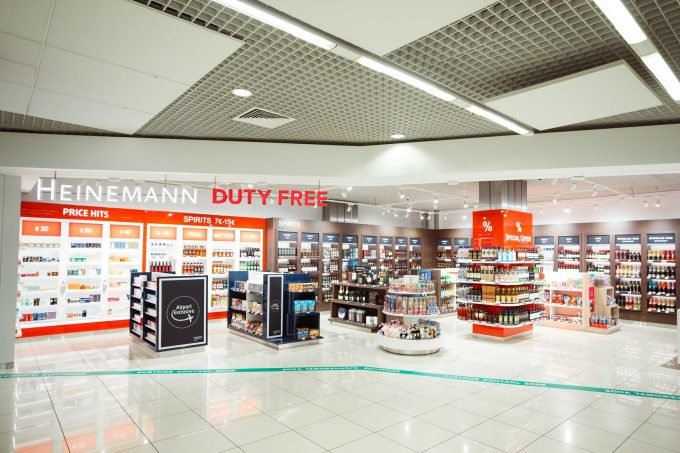 Duty Free arrival shopping lands at Ekaterinburg Airport