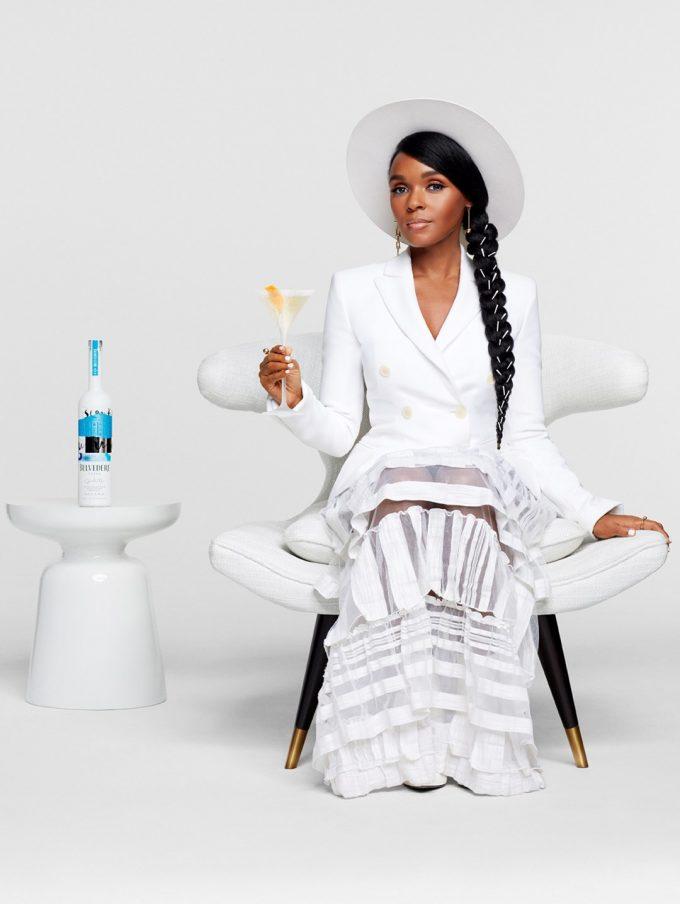 Belvedere Vodka X Janelle Monáe debut stunning Limited-Edition