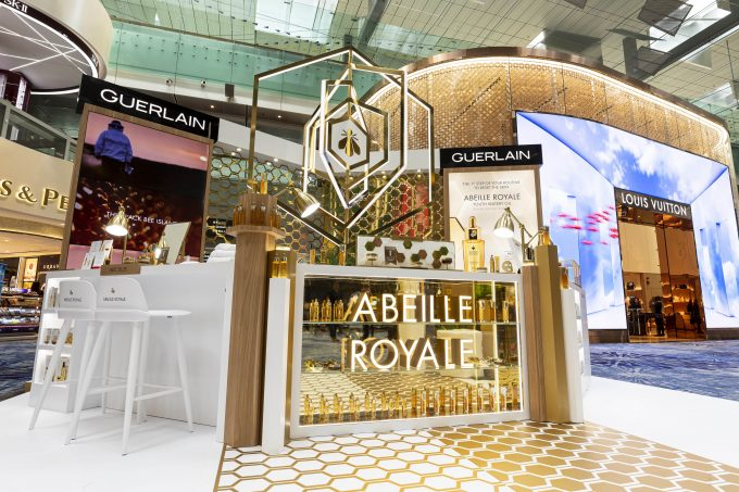 Guerlain's Summer Essentials land at Singapore Changi