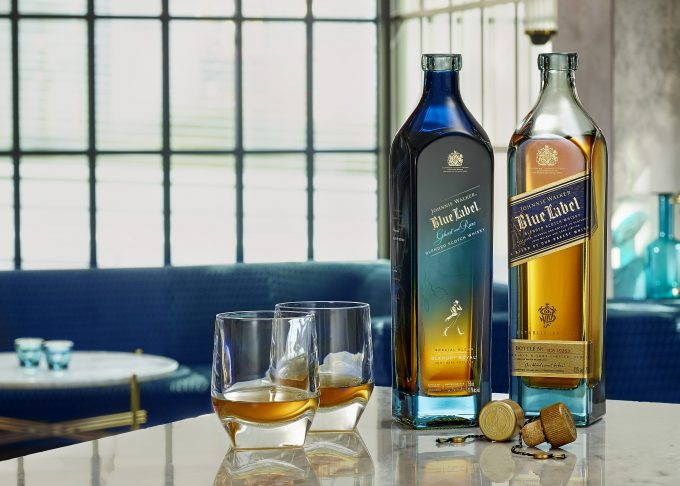 Limited Edition Johnnie Walker Blue Label Ghost and Rare Glenury Royal to touch down in duty-free