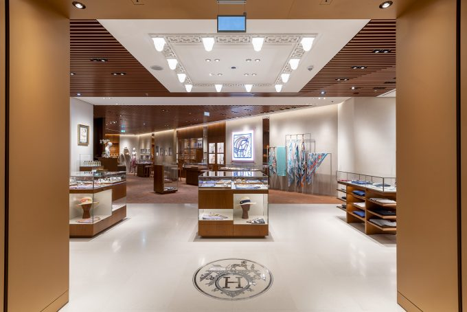 Hermès opens stunning new 'Maison' boutique at Frankfurt Airport