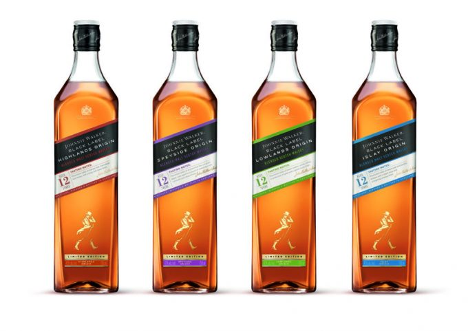 Johnnie Walker unveils Black Label Origin Series – exclusively launching in duty-free this month