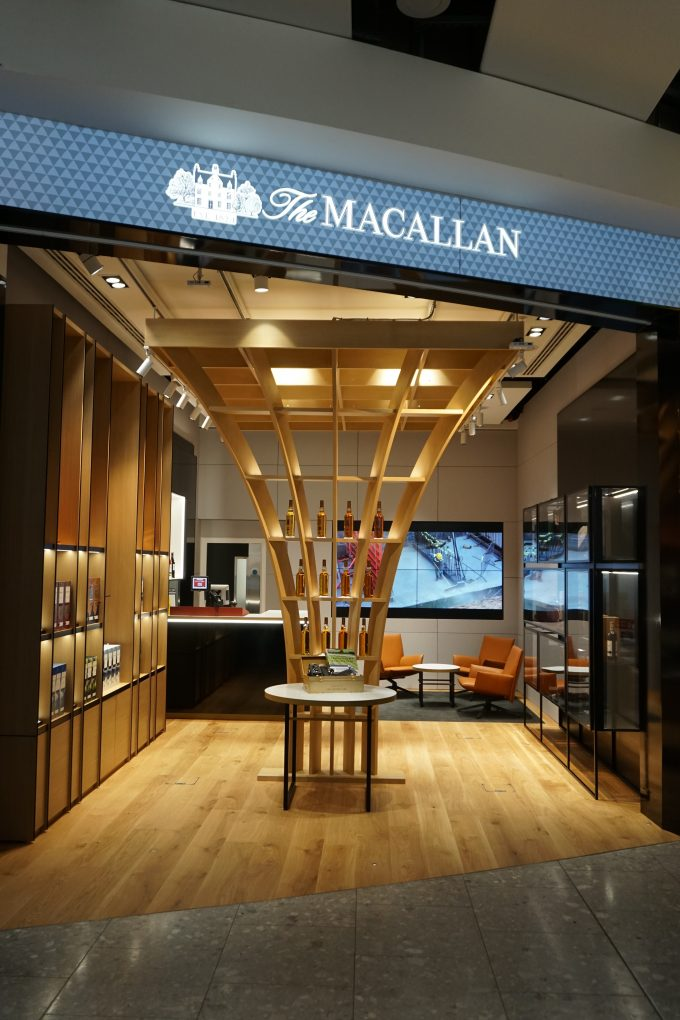 First Look: The Macallan Boutique opens at London Heathrow T5