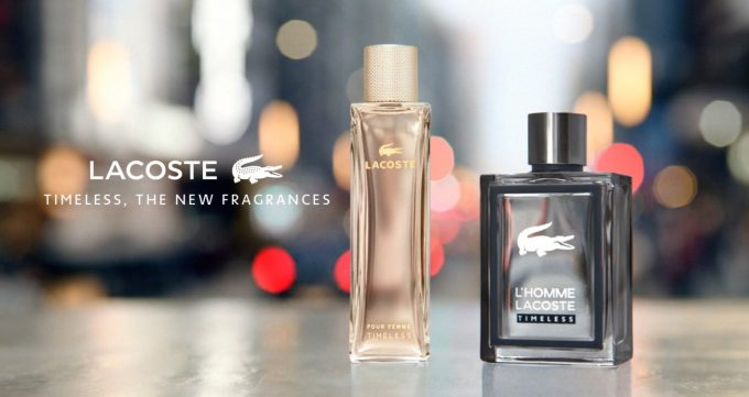 Lacoste introduces new 'Timeless' fragrances