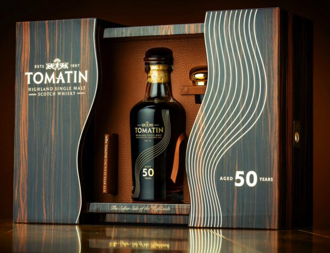 Tomatin Distillery's oldest release touches down at Amsterdam Schiphol