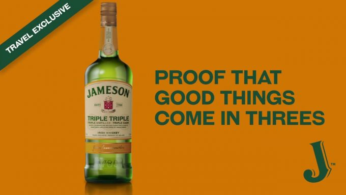Jameson Triple Triple launched as duty-free exclusive
