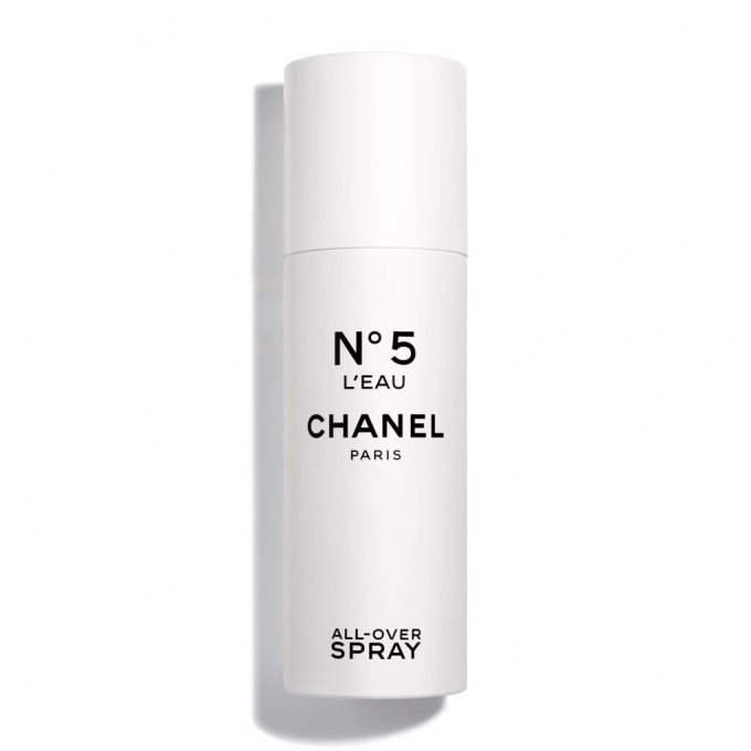 CHANEL debuts a new way to wear N°5 all-over