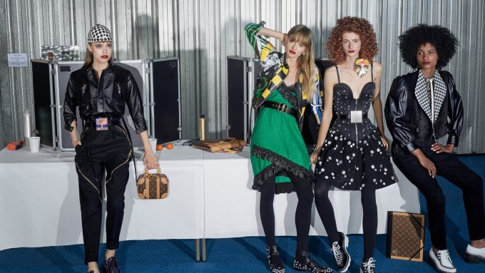 Louis Vuitton's latest bags are on show in Backstage campaign