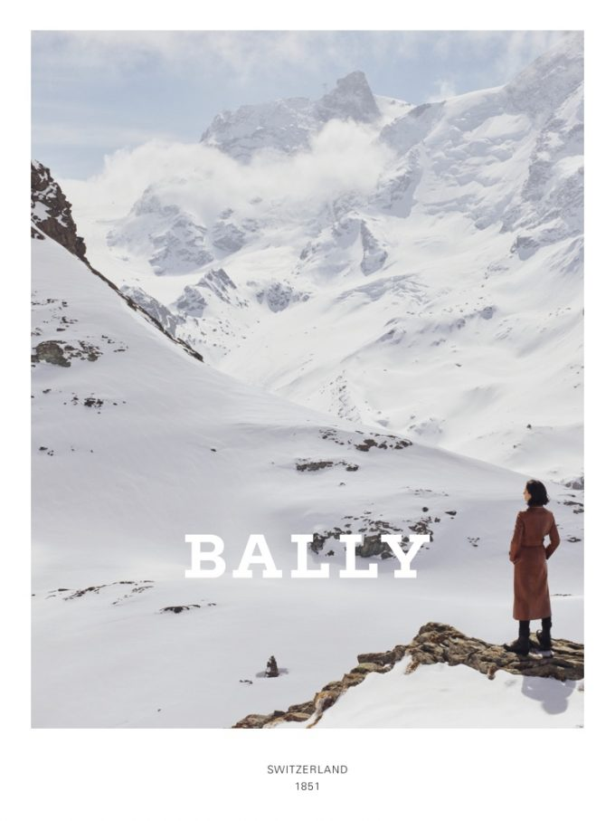 BALLY climbs high in new A/W campaign