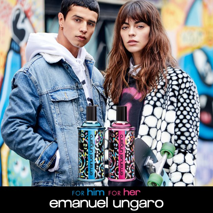 Emanuel Ungaro introduces For Her & For Him scent duo