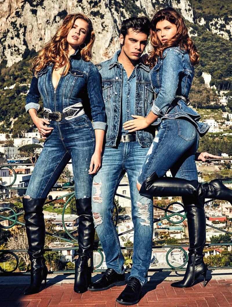 GUESS heads to Capri for AW 2019 Campaign