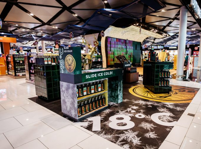 Jägermeister's Ice Cold duty-free promotion goes global