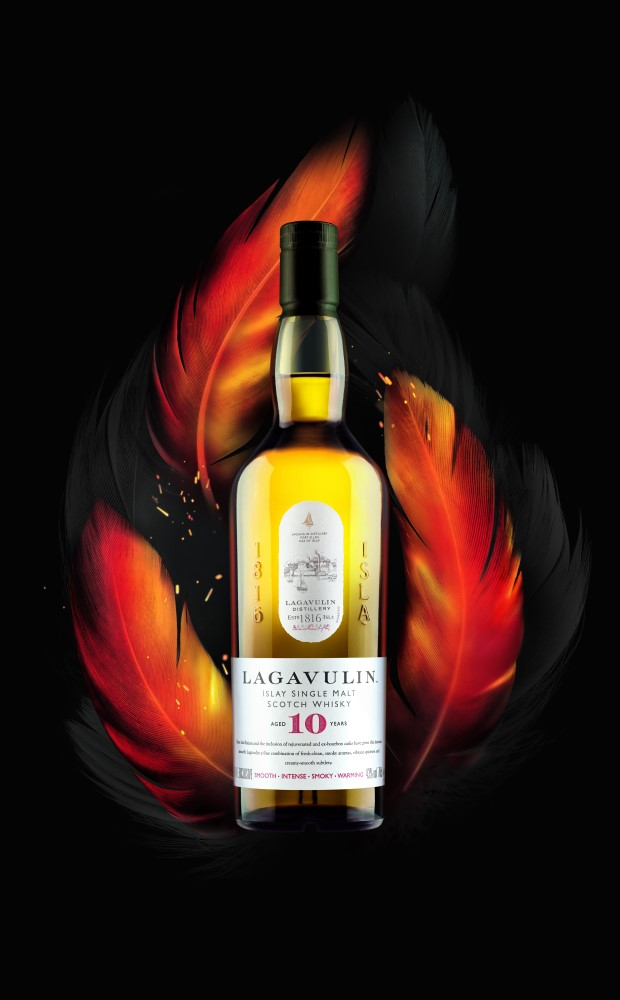 NEW Lagavulin 10 Year Old Malt lands in Dufry duty free stores