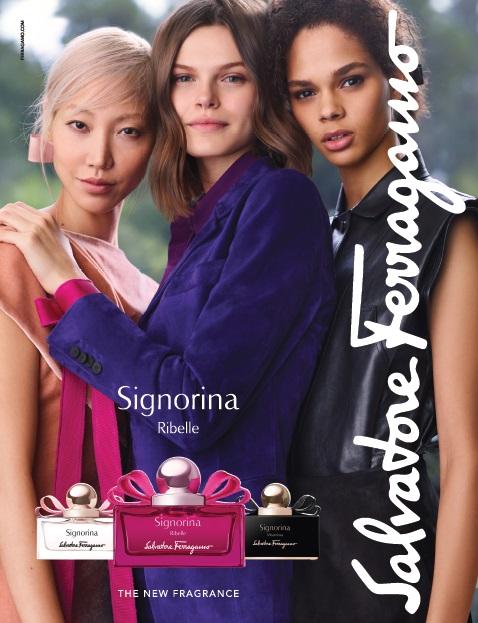 Ferragamo reveals 'fearless' Signorina Ribelle fragrance
