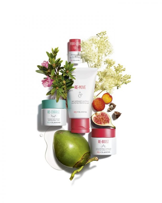 My Clarins skincare line is the latest Shilla Duty Free exclusive