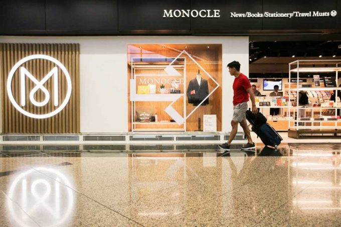 Monocle opens first airport store at Hong Kong International