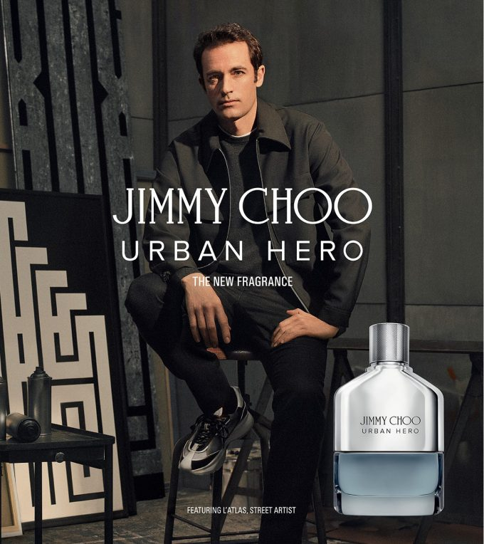 Jimmy Choo Urban Hero fragrance rides in to town