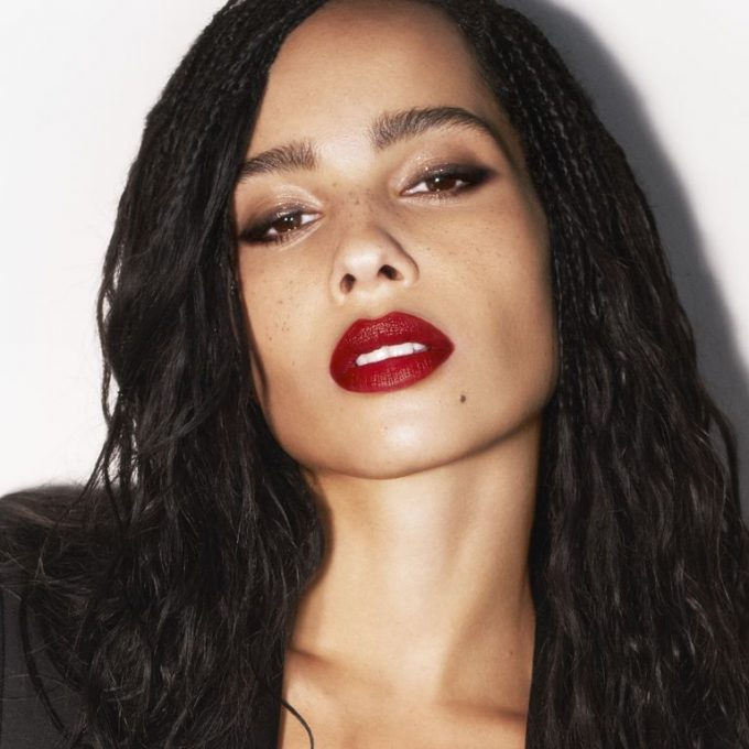 Zoë Kravitz launches her lipstick collboration with YSL Beauty