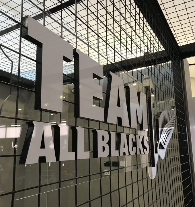 Official All Blacks store scores at Christchurch Airport