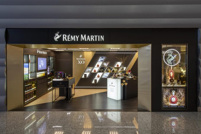 Opulence & XO: Rémy Martin Boutique arrives at Taiwan Taoyuan International