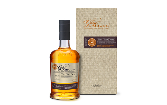 Glen Garioch debuts travel exclusive Cask 91 at Aberdeen's World Duty Free