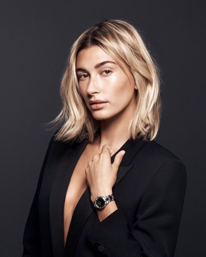 Daniel Wellington taps Hailey Baldwin for new 'Iconic Link' campaign