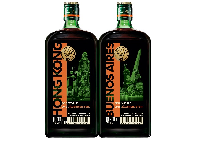 One World, One Jägermeister: duty-free special editions land at 13 more destinations